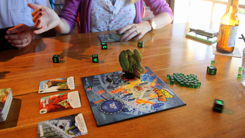 King of Tokyo boardgame