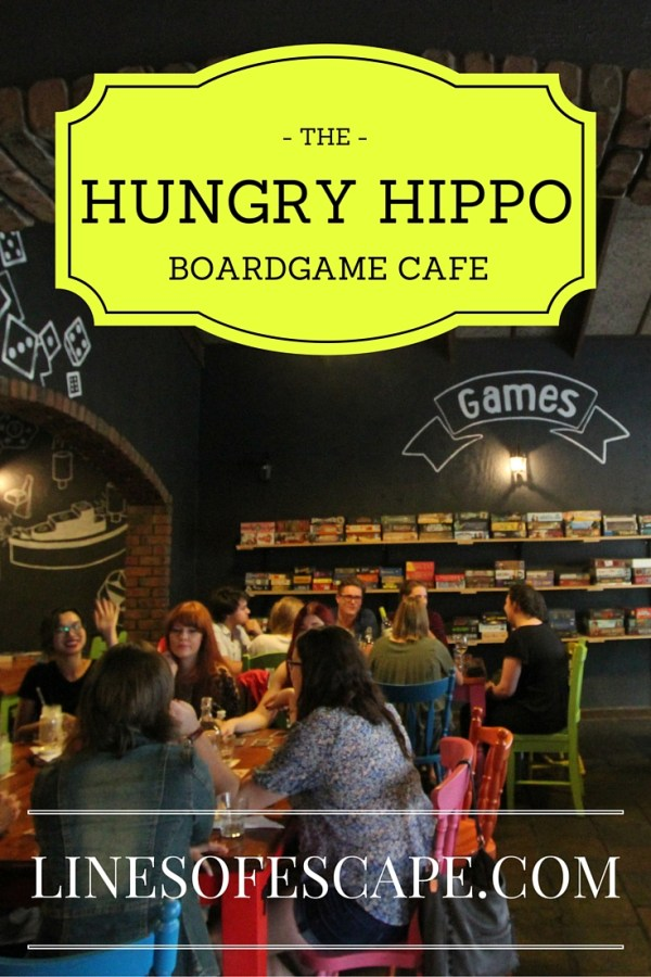 The Hungry Hippo - Adelaide's Boardgame Cafe