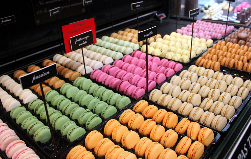 Macarons from Maison Larnicol