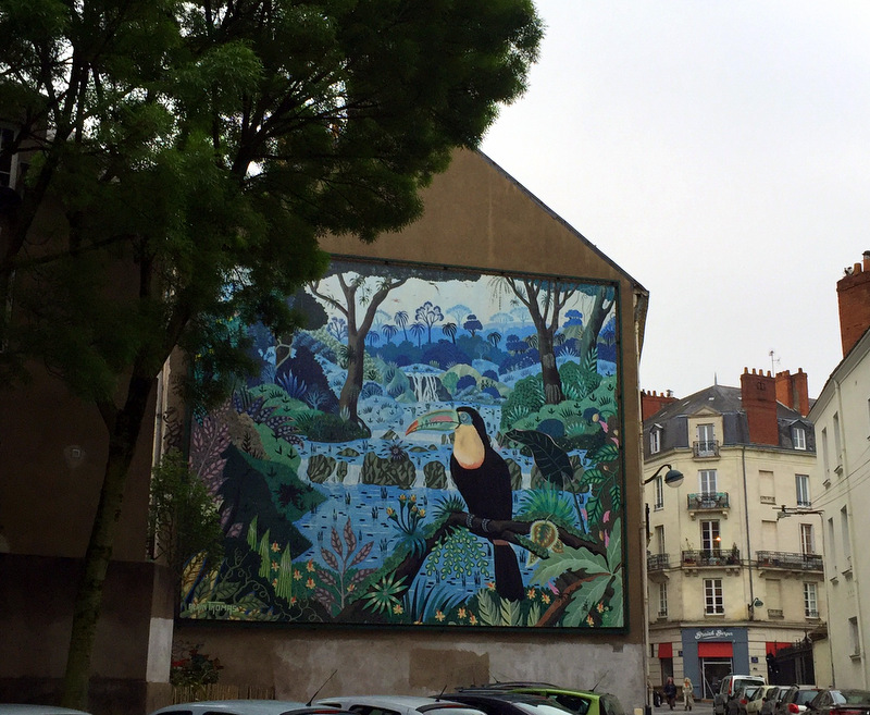 Street art in Nantes