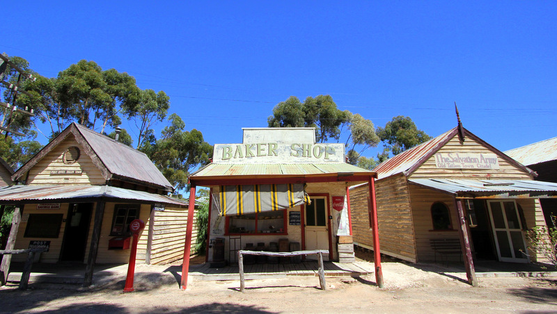 Storefronts at Old Tailem Town