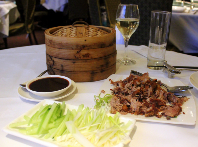 Royal China duck pancakes