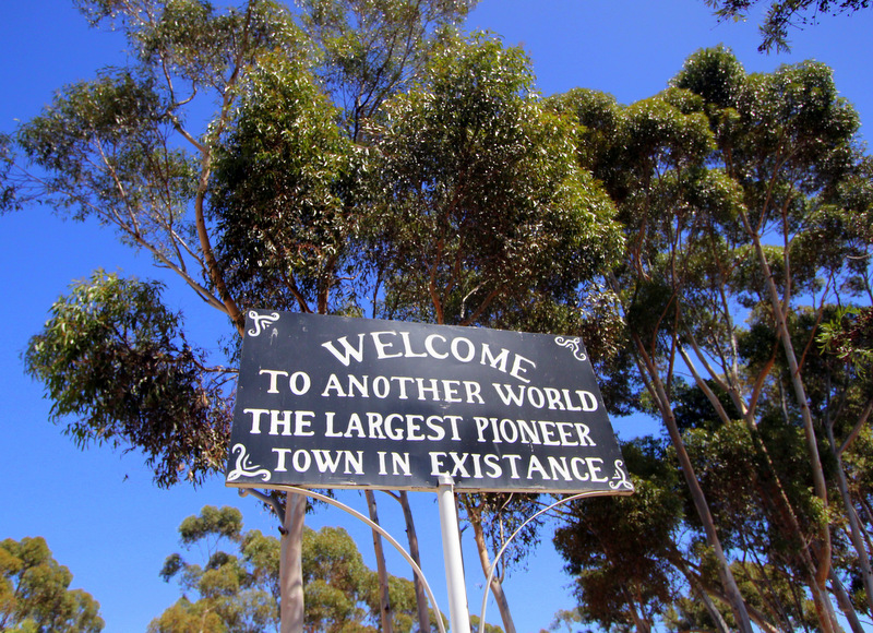 Old Tailem Town sign