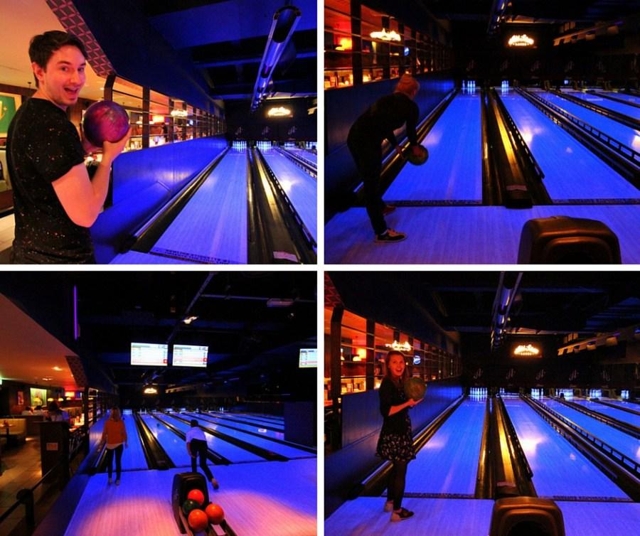 Bowling at All Star Lanes, Holborn