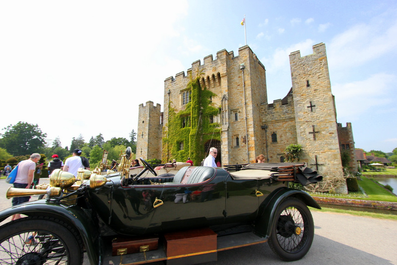 Historical cars at Hever Castle