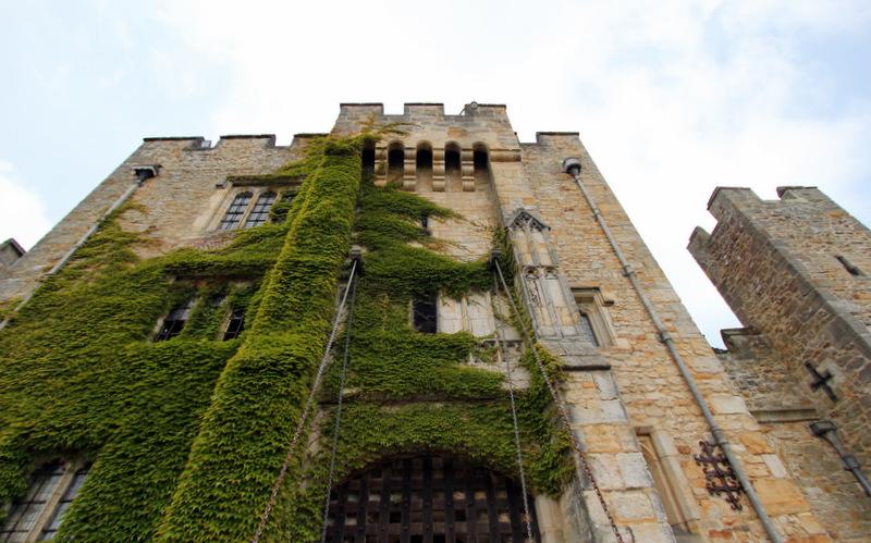 Hever Castle up close