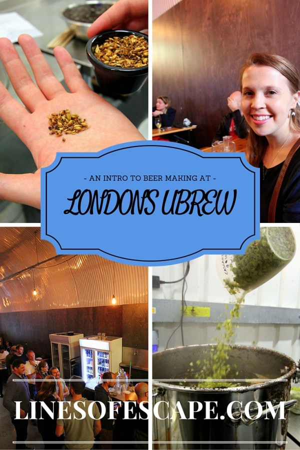 An Introduction of Beer Making at UBREW