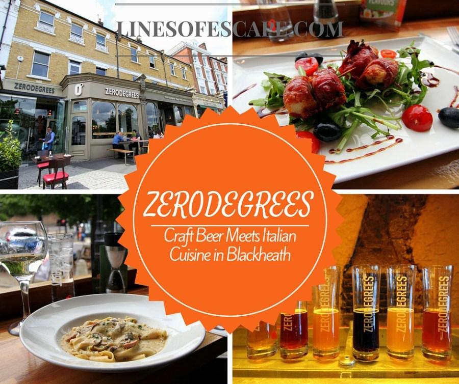 Zerodegrees: Craft Beer Meets Italian Cuisine in Blackheath