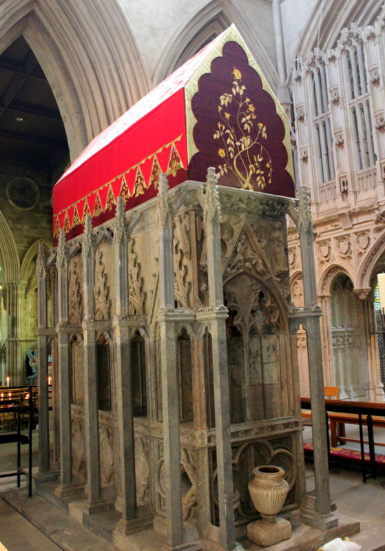 The tomb of St Alban