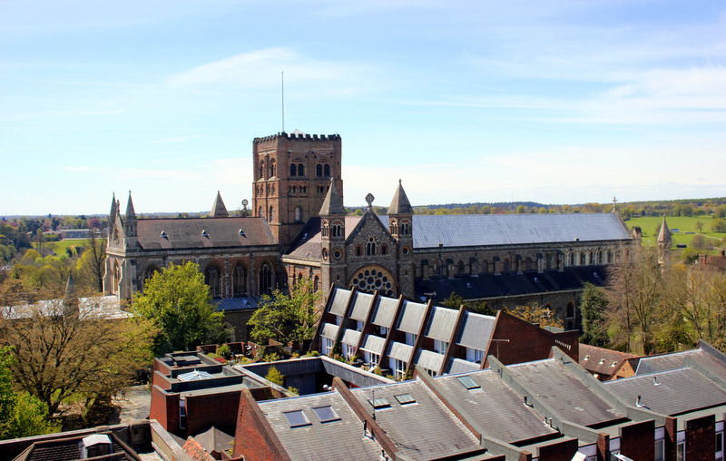 View of St Albans Cathedral
