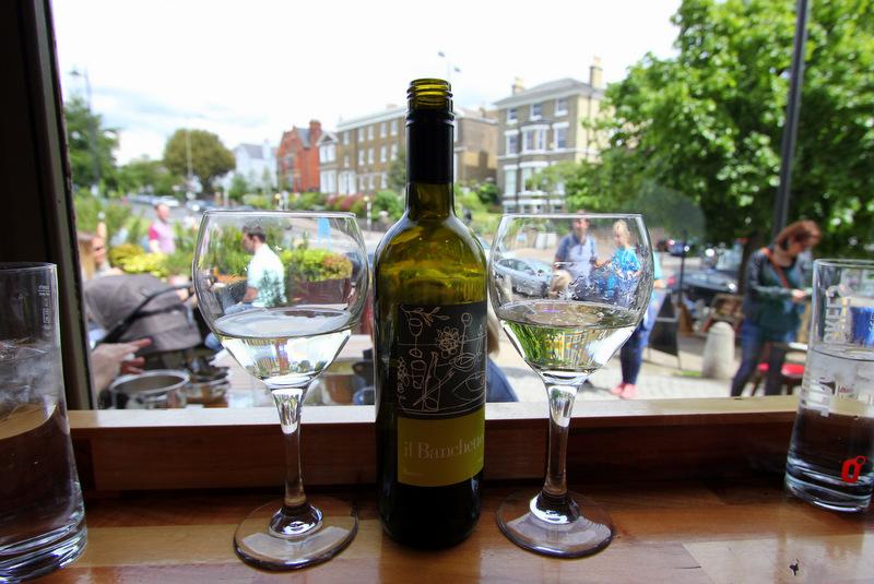 Wine menu at Zerodegrees
