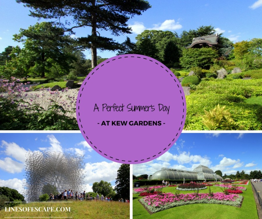 A Perfect Summer's Day at Kew Gardens
