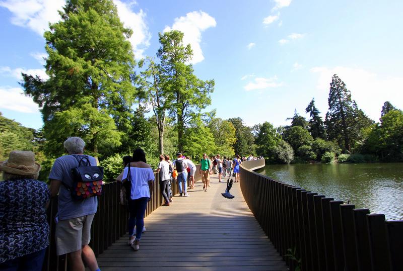 Sackler Crossing Bridge.