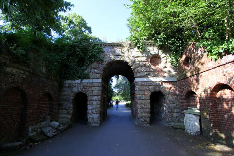 Roman gateway, Kew Gardens.