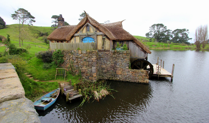 Boathouse at Hobbiton