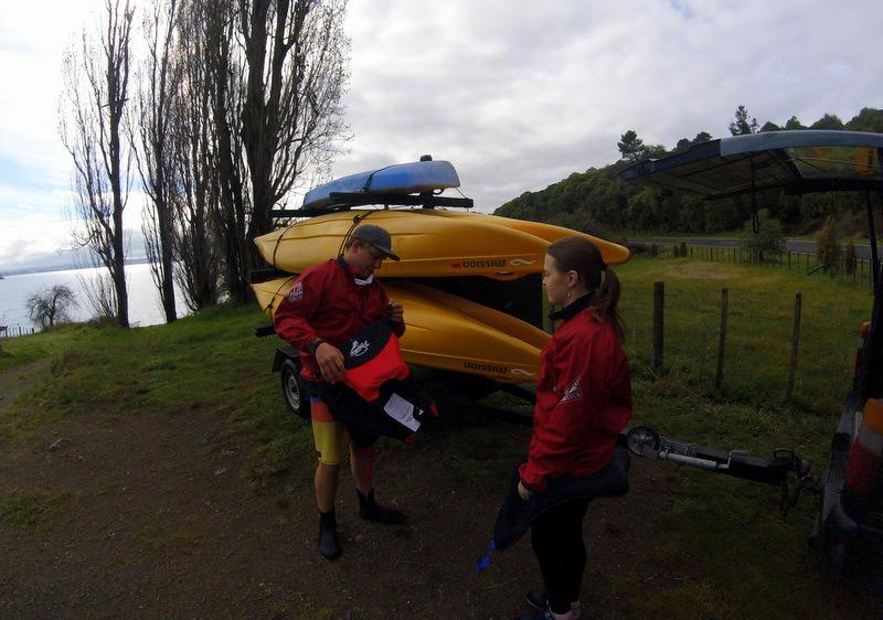 Kayak tour, Taupo