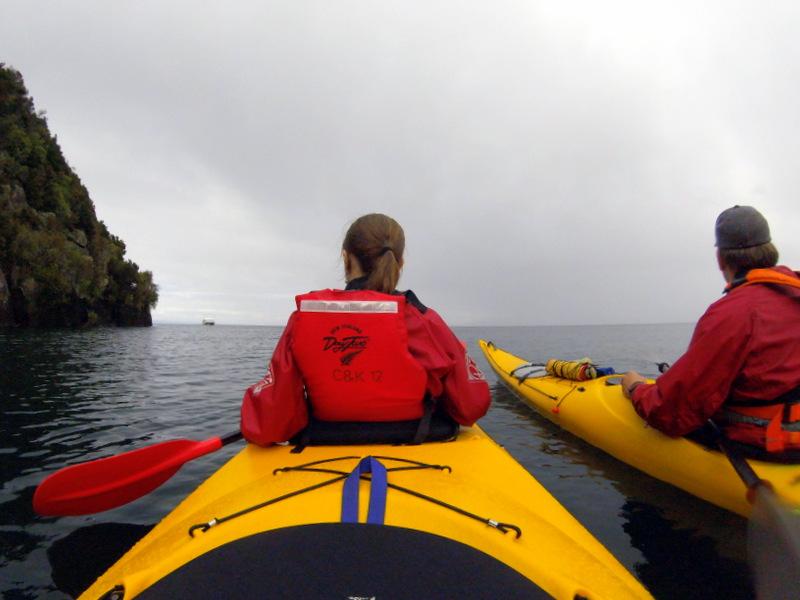 Kayaking tour, Taupo