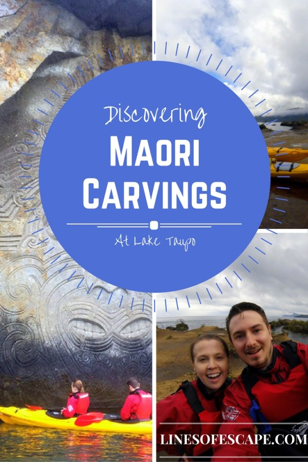 Discovering Lake Taupo's Maori carvings with Canoe & Kayak