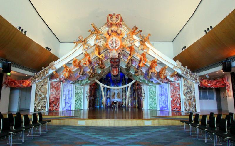 Maori culture at Te Papa