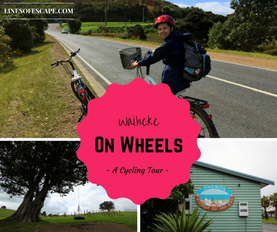 A Cycling Tour of Waiheke Island