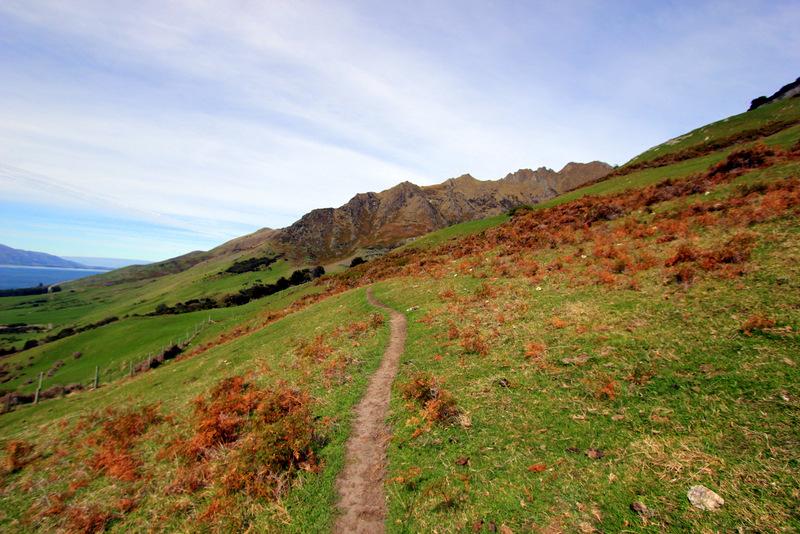 Isthmus Peak track