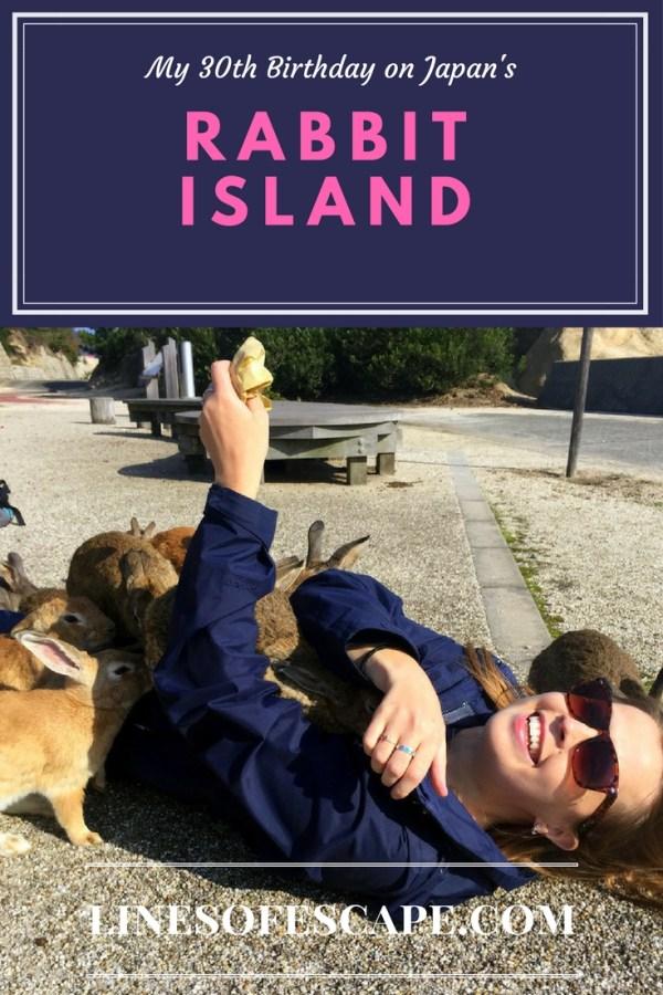 My 30th Birthday on Japan's Rabbit Island