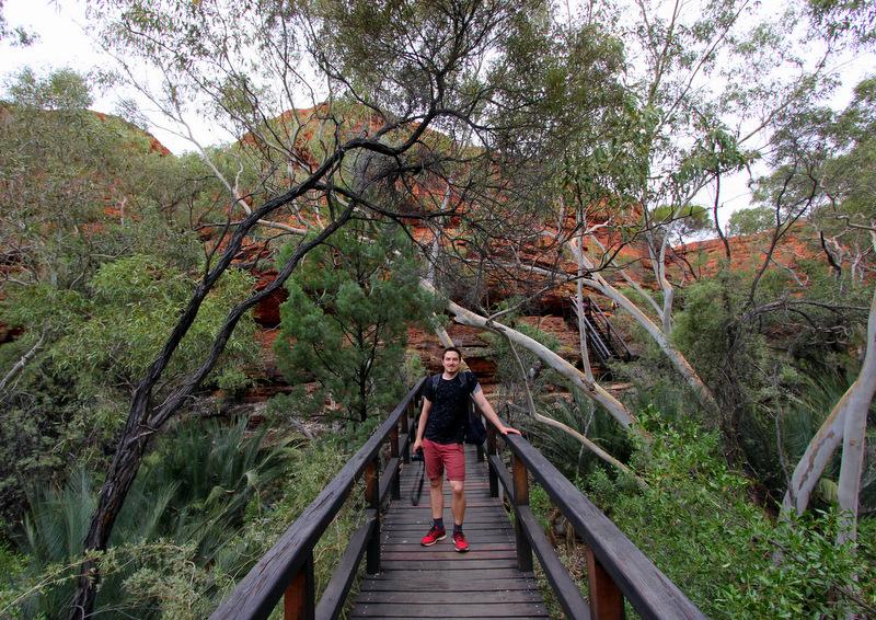 Bridge in Kings Canyon