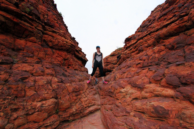 Priscilla's Crack, Kings Canyon