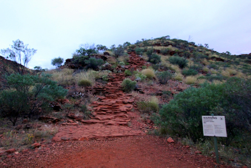 Heart Attack Hill, Kings Canyon