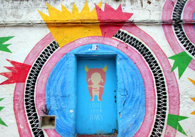 Street art in Menorca