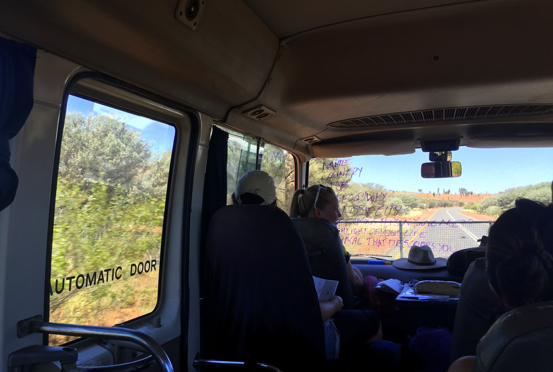 Rock Tour bus