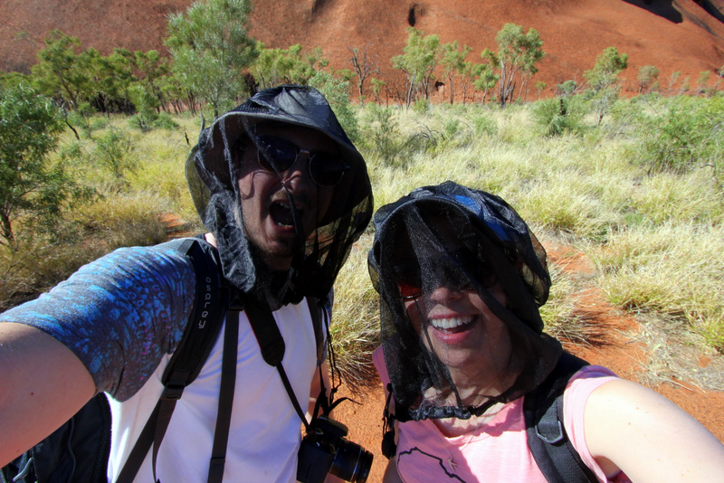 Flynets at Uluru