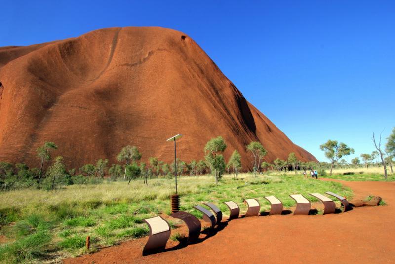 Dreamtime stories of Uluru