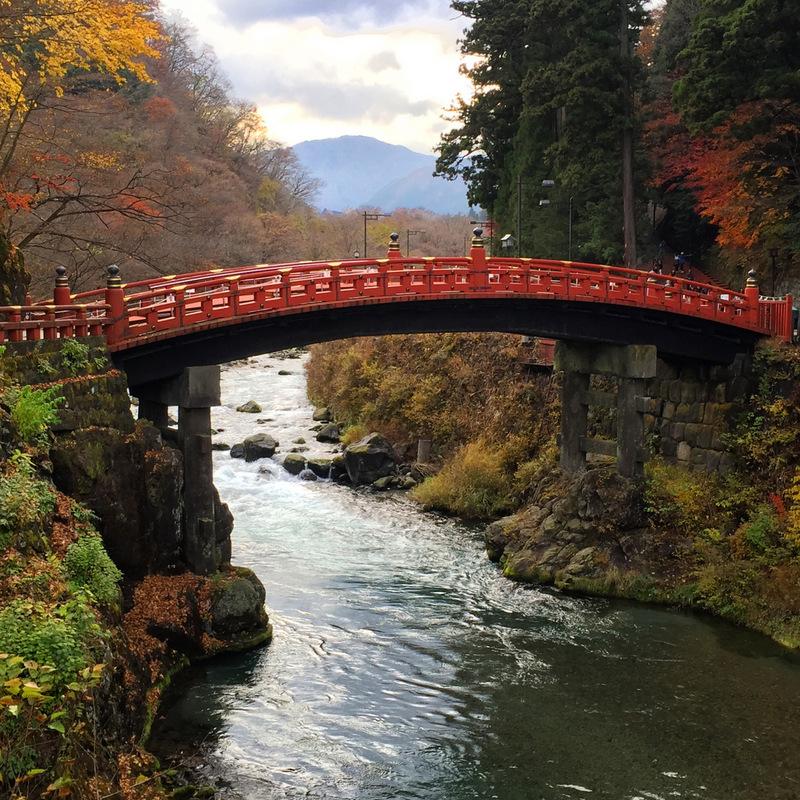 Shinkyo Bridge, Nikko