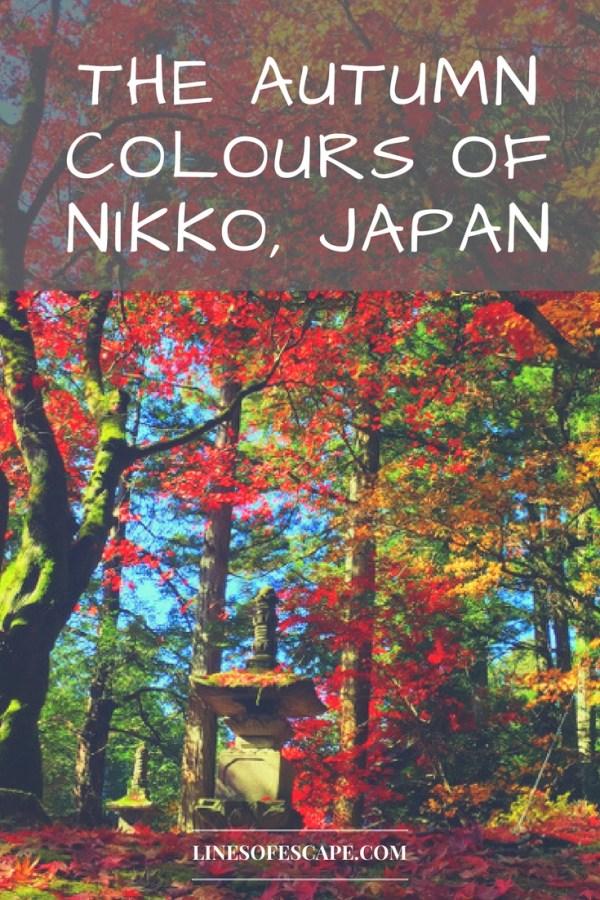 The Autumn colours of Nikko, Japan