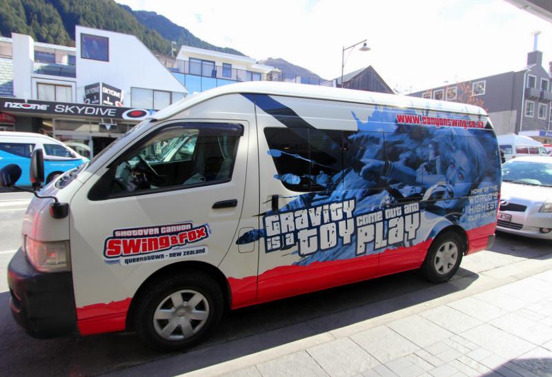 Shotover Canyon bus