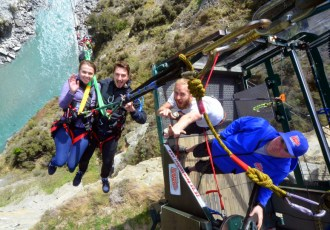 A day-long adrenaline rush at Shotover Canyon