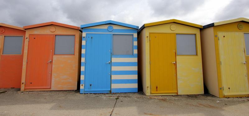 Beach houses of Seaford