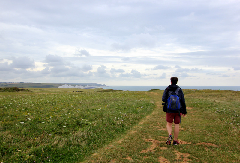 how to get to seven sisters cliffs from brighton