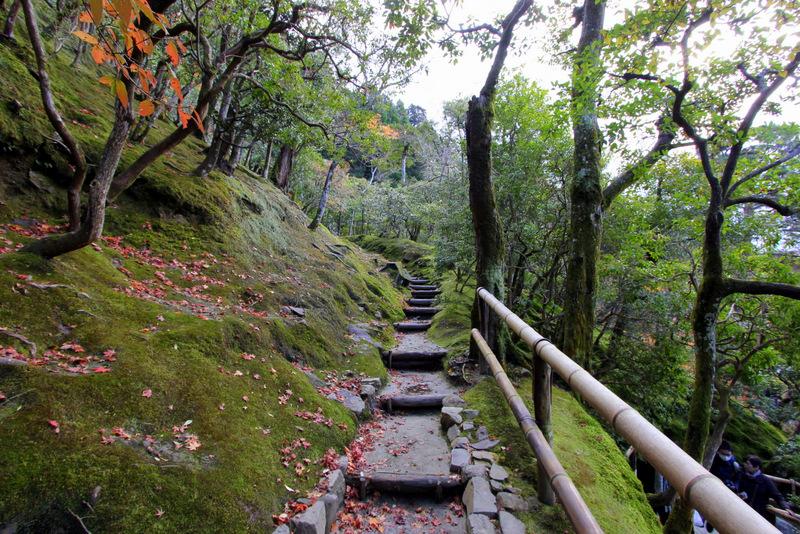 Ginkaku-ji's gardens