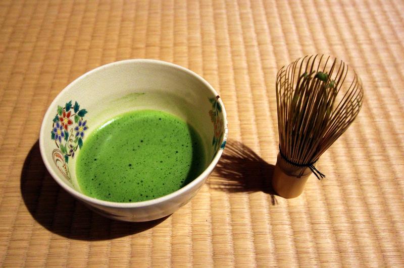 Tea ceremony at Camellia