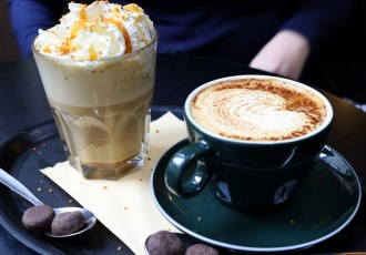 Searching for the best coffee shops in Bruges