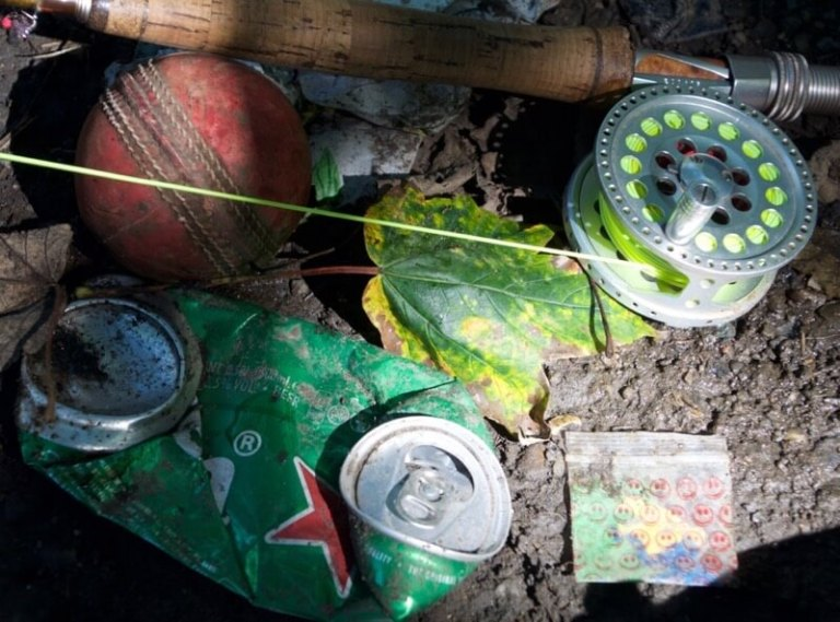 angling litter