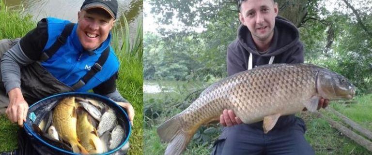 Izaak Walton fishery match fishing Midlands