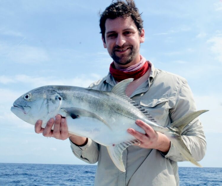 Jack Crevalle fishing Costa Rica