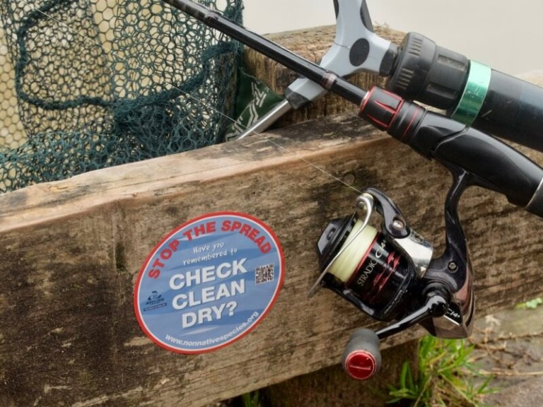 Clean check dry Angling Trust invasive species
