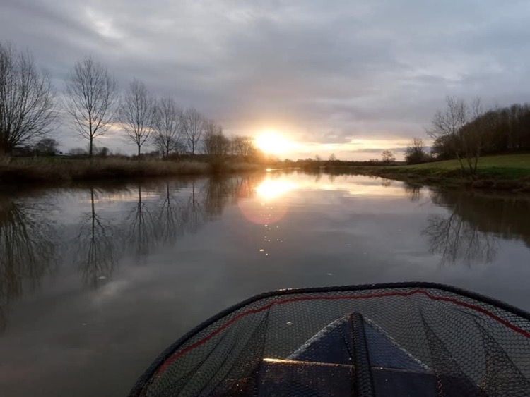boat fishing for pike
