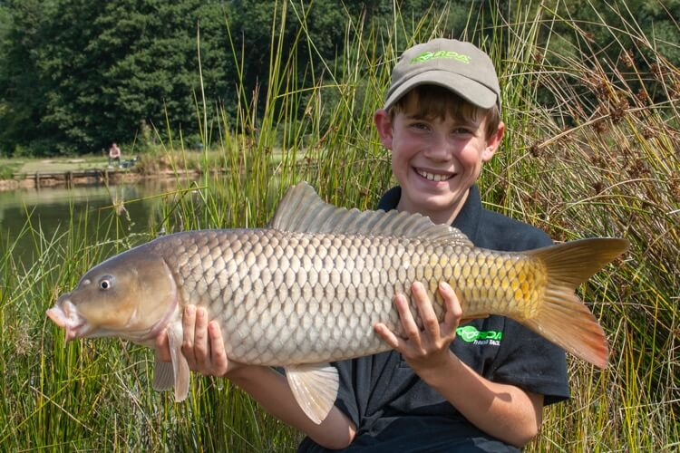 Sam Edmonds fishing carp