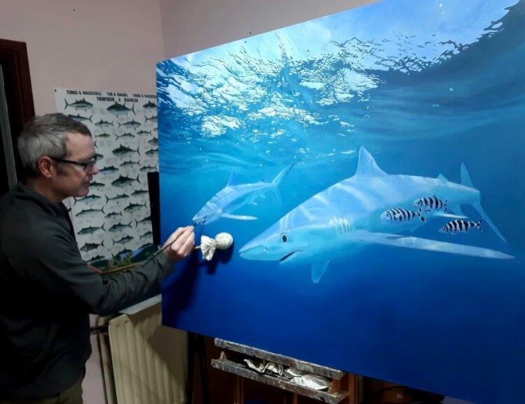 David Miller Fish Art interview