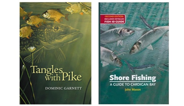 David Miller Fishing Books Covers